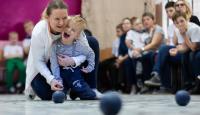 Спортивная чудо-весна: фестиваль по бочча для детей-инвалидов прошел под Томском